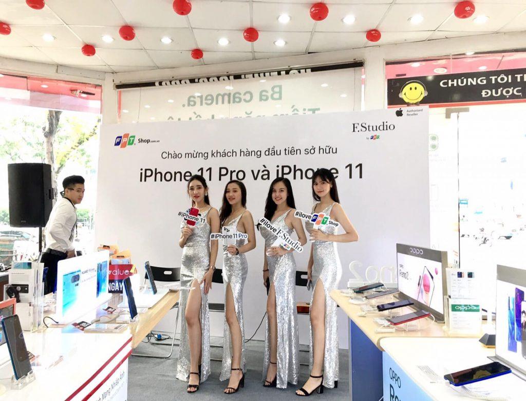 Sự kiện ra mắ sản phẩm IPHONE 11 Pro của hệ thống phân phối