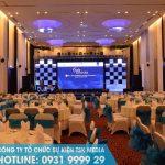 Lựa chọn địa điểm tổ chức sự kiện phù hợp với nhu cầu về thiết bị sự kiện