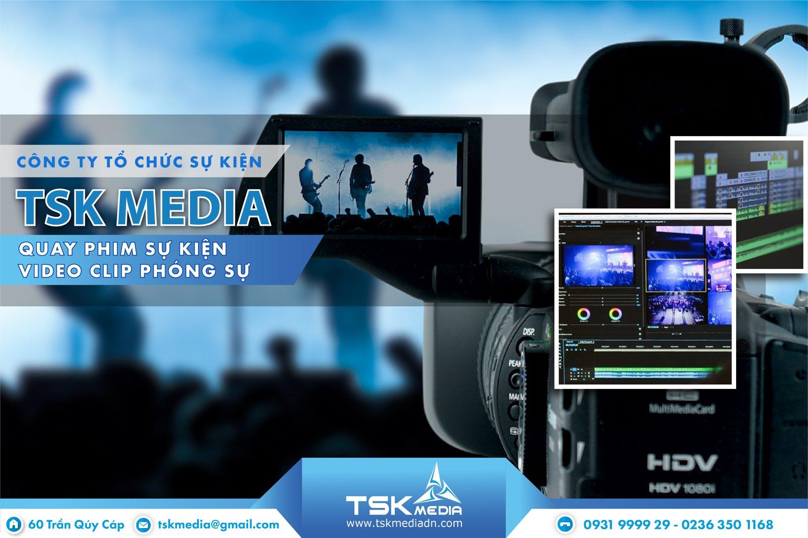 Quy trình của dịch vụ quay phim sự kiện tại TSK Media
