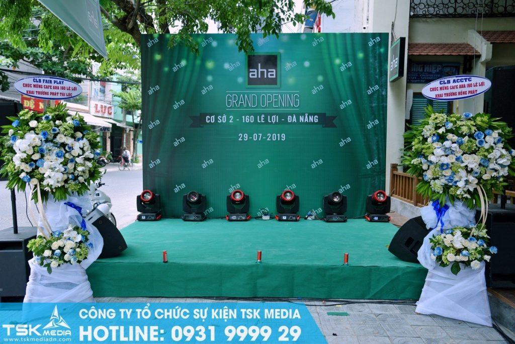 TSK Media - đơn vị set up sân khấu chuyên nghiệp