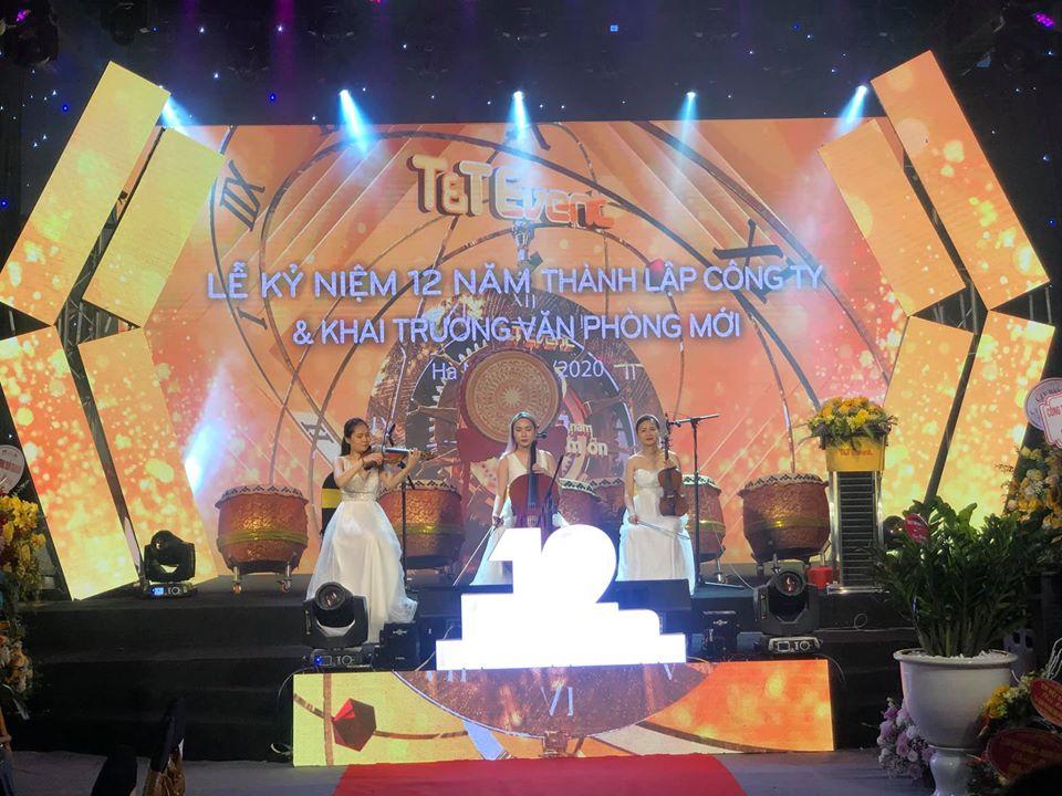 sân khấu sự kiện tại Đà Nẵng