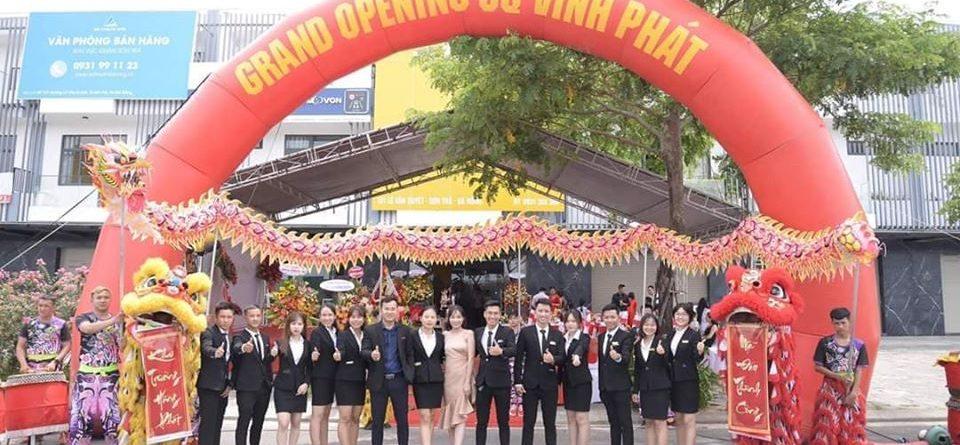 cổng chào sự kiện tại Đà Nẵng